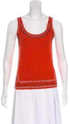 Kenzo Wool Embellished Top