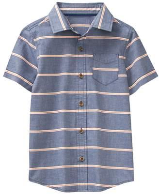 Crazy 8 Stripe Chambray Shirt