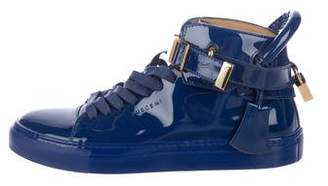 Buscemi 100MM Patent Leather Sneakers