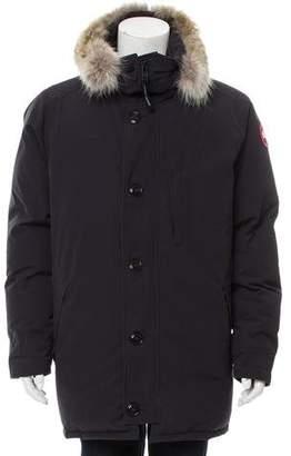 Canada Goose Fur-Trimmed Puffer Coat