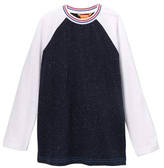 Joe Fresh Long Sleeve Raglan Sleeve Tee (Little Boys & Big Boys)
