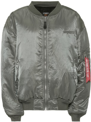 Vetements x Alpha Industries oversized jacket