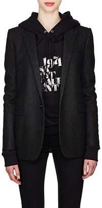 Saint Laurent Women's Cotton Flannel Blazer