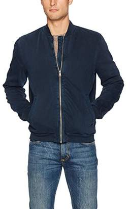 Lucky Brand Men's Denim Bomber Jacket