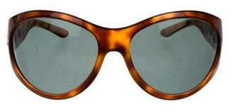 Ralph Lauren Oversize Tortoiseshell Sunglasses