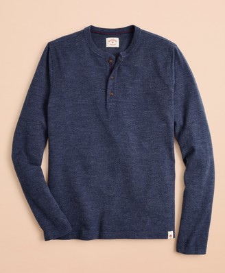 Brooks Brothers Cotton Jersey Long-Sleeve Henley