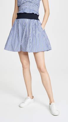 ADEAM Convertible Bandeau Shorts