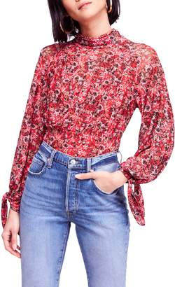 Free People All Dolled Up Blouse