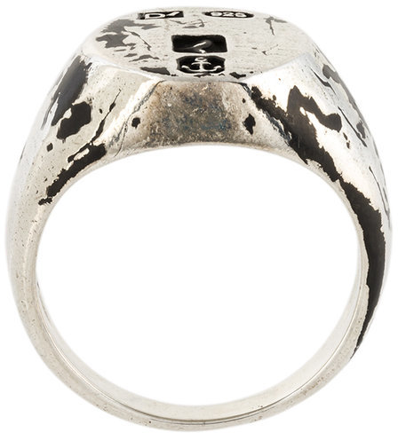 Andrea D'Amico Andrea D'amico worn out effect ring