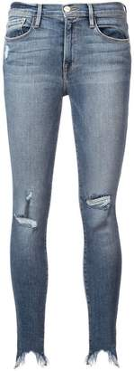 Frame ripped skinny jeans