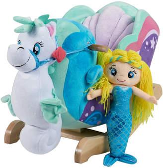 Rockabye Mermaid Princess Carriage