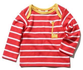M&Co Stripe giraffe t-shirt