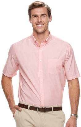 Croft & Barrow Big & Tall Regular-Fit Solid Easy-Care Button-Down Shirt