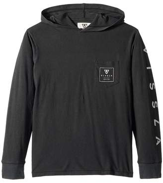 VISSLA Kids Car Park Long Sleeve Hooded T-Shirt Boy's T Shirt