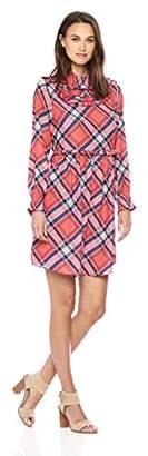 Ella Moon Women's Brantley Ruffled A-Line Smocked Dress