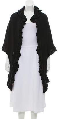 Bloomingdale's Ruffle-Trimmed Cashmere Poncho