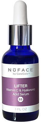 NuFace Lifter (S3) Vitamin C and Hyaluronic Acid Serum 1 oz (30 ml)