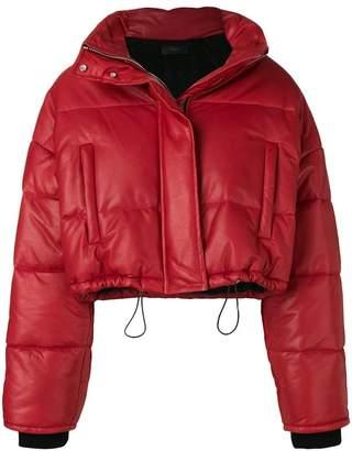 Amiri cropped puffer jacket