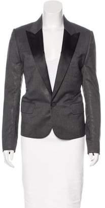 Christian Dior Metallic Wool Blazer