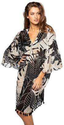 Pool' Subtle Luxury Pool To Party Night Leaves Bell Sleave Kaftan