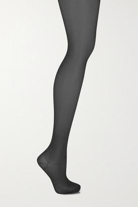 Wolford Miss W 30 Denier Support Tights - Black