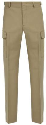 Stella McCartney Stevie Wool Jersey Cargo Trousers - Mens - Beige