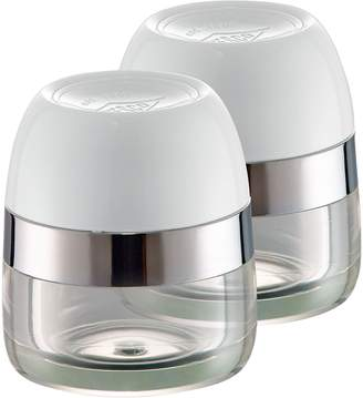 Wesco Spice Canister (Set of 2), White