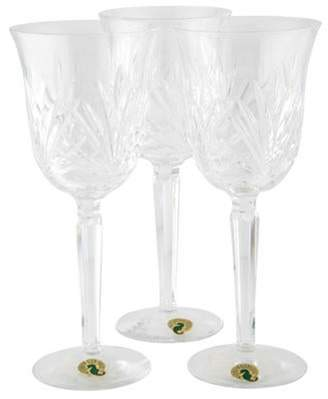 Waterford Set of 3 Leana Water Goblets Set of 3 Leana Water Goblets