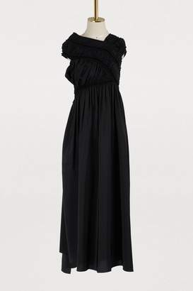 Jil Sander Farfalla silk dress