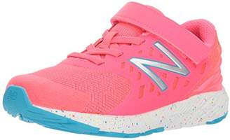 New Balance Girls' Urge V2 FuelCore Hook and Loop Running Shoe