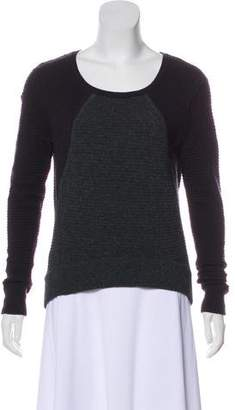 Rag & Bone Scoop Neck Wool Sweater