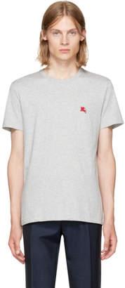 Burberry Grey Logo T-Shirt