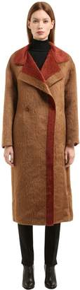 Agnona Alpaca & Wool Coat