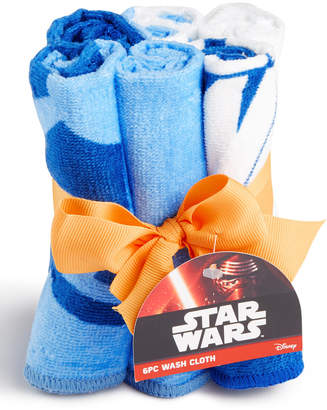Star Wars Jay Franco 6-Pc. Washcloth Set