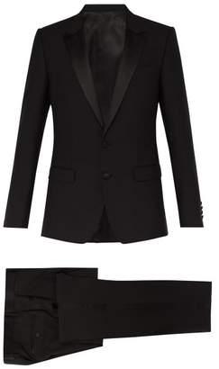 Dolce & Gabbana Peak Lapel Tuxedo - Mens - Black