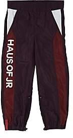 Haus of JR Kids' Mason Windbreaker Pants-Wine