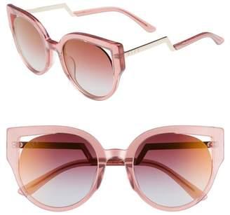Cat Eye DIFF Penny 55mm Sunglasses