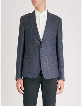 Paul Smith Checked Soho-fit wool jacket