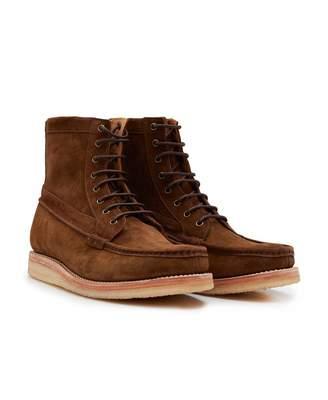 aaf36ec2ec6 Grenson Garret Suede Crepe Sole Boots Colour  Espresso