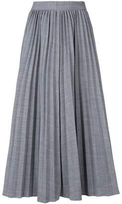 Co pleated midi skirt