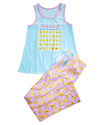 Max & Olivia 2-Pc. Graphic-Print Pajama Set, Little Girls & Big Girls