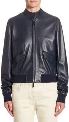 The Row Erhly Leather Jacket