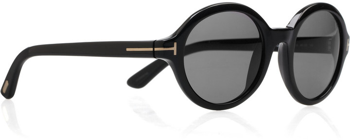 Tom Ford Round-frame acetate sunglasses