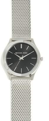 Michael Kors Slim Runway Stainless Steel Mesh Watch, 42mm