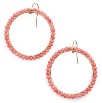 Lani ki-ele 'Lani' Front Hoop Earrings