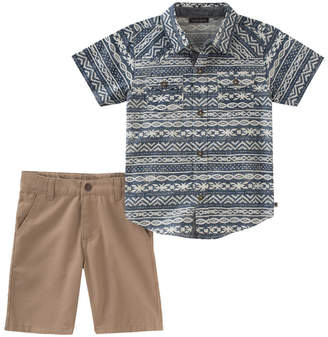 Lucky Brand Lucky Pant Printed Top & Short