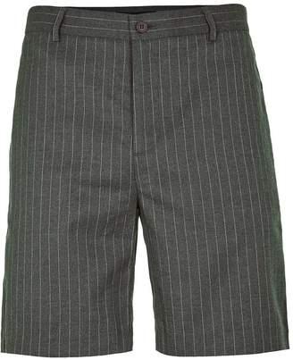 Topman ROGUES OF LONDON'S Brown Stripe Shorts