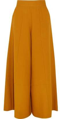 Merchant Archive Wool-crepe Wide-leg Pants