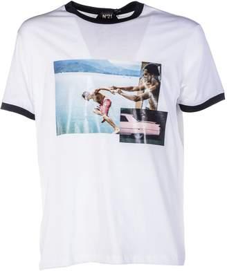 N°21 N.21 N.21 Printed T-shirt