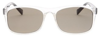 Lucky Brand Men's Midnight Plastic Frame Sunglasses $49 thestylecure.com